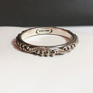 Louis Hill Paisley Beaded Ring/Band
